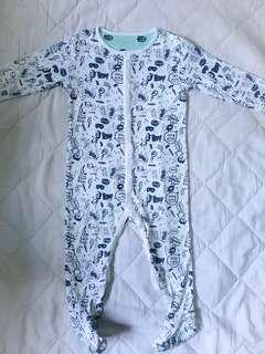 Sleepsuit Mothercare size 12-18m