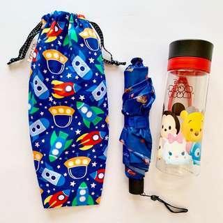 🚚 Umbrella/Bottle Wet bag , Water leak proof , washable , reusable , stylish and Eco-friendly ! Rocket