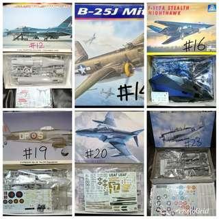 清位放戰機模型 2 (多谷)