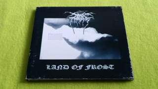 🚚 DARKTHRONE . land of frost . CD not vinyl record