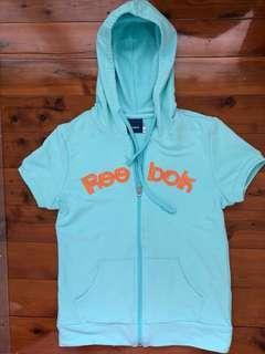 Reebok short sleeved hoodie