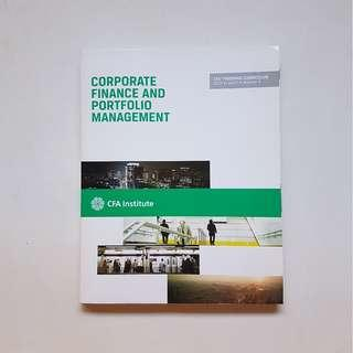 CORPORATE FINANCE AND PORTFOLIO MANAGEMENT:  CFA PROGRAM CURRICULUM 2013 LEVEL 1 (VOLUME 4)