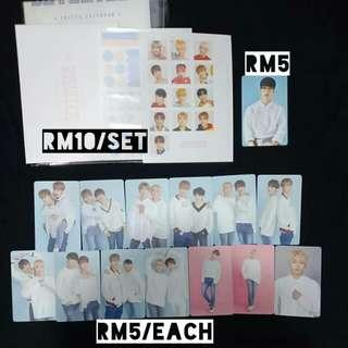 (Discounted price!) SEVENTEEN Official Photocards