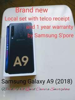 🚚 Samsung Galaxy A9 Black