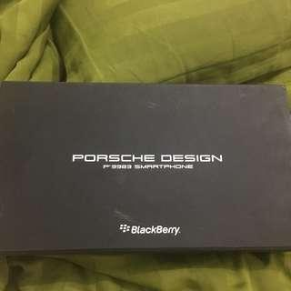 Prosche design blackberry P'9983