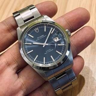 FS: Rare Tudor Jumbo 38mm blue dial 9080/0 on original Rolex bracelet