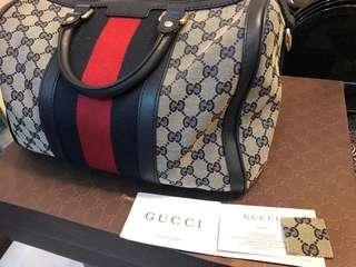Pre❤️ Gucci Boston Bag