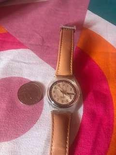 Authentic SWATCH Swiss made good as new used twice no issues, watch only