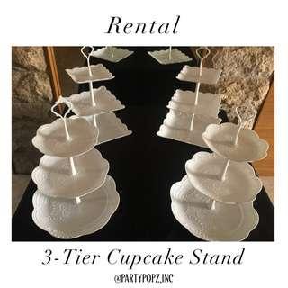 Dessert stand / Cupcake stand [ RENTAL ]