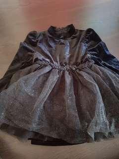 🚚 Black tutu dress