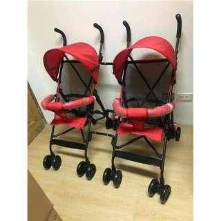 MKSH Twin Stroller No.3 For Baby and Kids