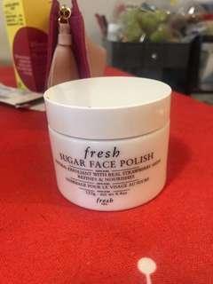 Buy one get one free France's fresh sugar face polish