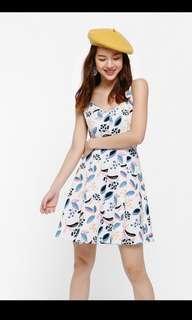 🚚 LB SCALLOP DRESS