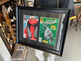 SPIDER-MAN 50TH & 100TH ISSUE HOLOGRAPHIC