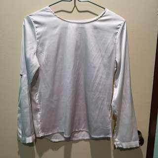 3 helai RM20 Blouse - white