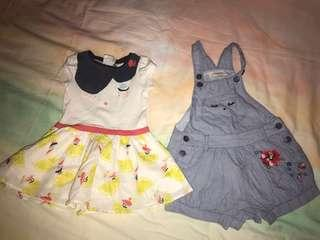 🚚 Catimini French brand dress and jumpsuit 12 months