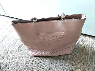 GUESS Pink Bucket Bag