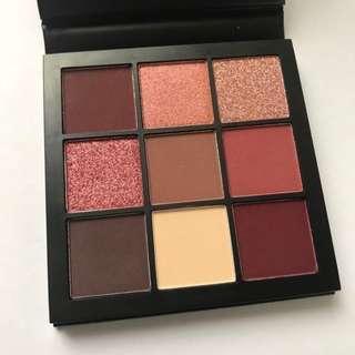 減價❗️全新包郵 Huda Beauty Obsessions eyeshadow palette- mauve