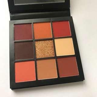 減價❗️全新包郵 Huda Beauty Obsessions eyeshadow palette- Warm Brown