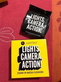 Light camera action cusion (REFILL ONLY)
