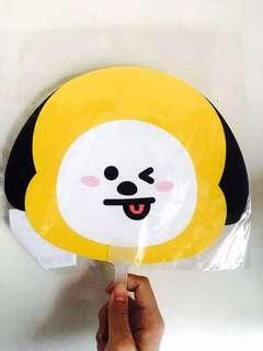 🚚 BT21 CHIMMY 大頭扇 贈袋子