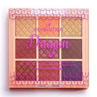 🚚 Dragon - Iheartrevolution Fantasy Makeup Pigment Palette by UK Revolution Beauty Boots Drugstore Cosmetics
