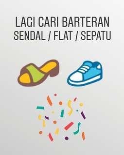 Cari Sendal / Flat / Sepatu