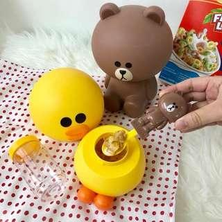 Kellogg's Line Friends Cereal Containers