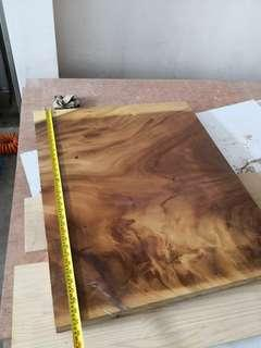 Solid wood offcut peice