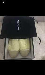 Authentic Chanel Espadrilles