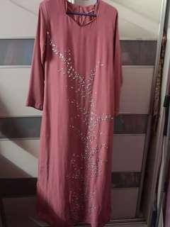 Jubah / Jubah Moden / Jubah Muslimah / Dress Labuh / Dress / Dress Manik / Dress Muslimah