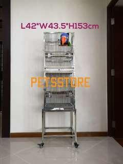 2-Tier Stainless Steel Cage