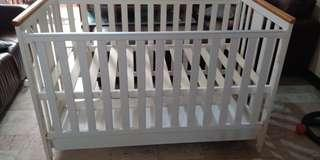 Branded Wooden Crib