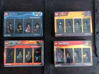 LEGO Bricktober 2018 - Minifigs (Complete Set) - EXTREMELY RARE