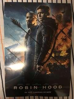"""Robin Hood Movie Poster """" Hard """" A2 Size 2019"""