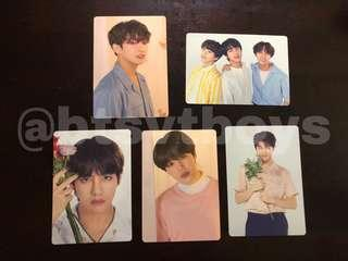 [ WTS ] BTS' Love Yourself Tour Mini Photocards MD [ Mini PC ]