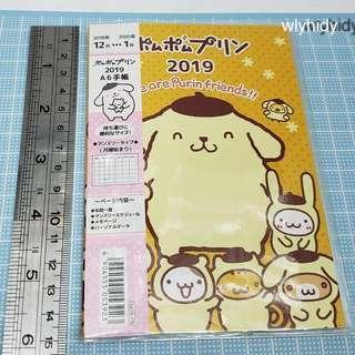 Sanrio Pompompurin 布甸狗2019 行事曆
