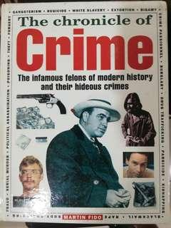The Chronicle of Crime by Martin Fido