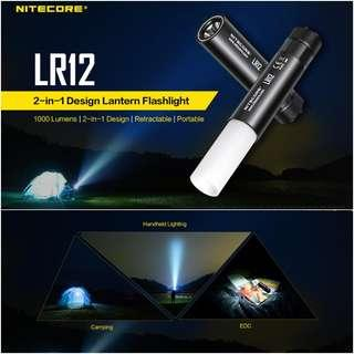 (1,000 Lumens) Nitecore LR12 Handheld Lantern with Flashlight Function_Compact & Lightweight