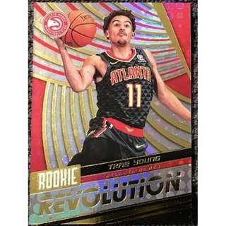 🚚 Trae Young 2018-19 NBA Panini Rookie Revolution Card