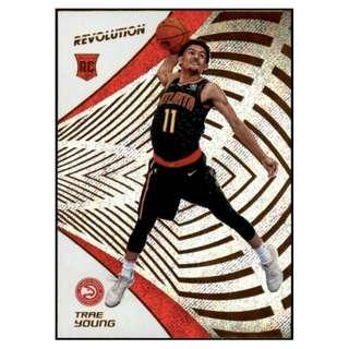 🚚 Trae Young 2018-19 NBA Panini Revolution Base Rookie Card