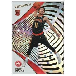 🚚 Trae Young 2018-19 NBA Panini Revolution Astro Rookie Card