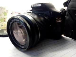 Canon eos 550d dalr camera