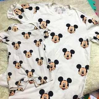 Mickey romper & mummy T-shirt