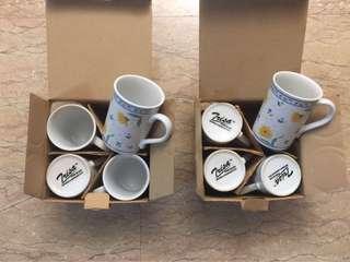 🚚 Cups mugs set porcelain glass microwave dishwasher safe #MakeSpaceForLove