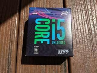 🚚 Intel Core i5-8600K Up to 4.3GHz Turbo ( 36 Months Warranty ) LGA1151 with Optional Free Delidding