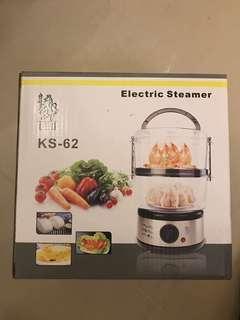 電子蒸籠 Electric Steamer (100%全新NEW未用過及未開過盒)