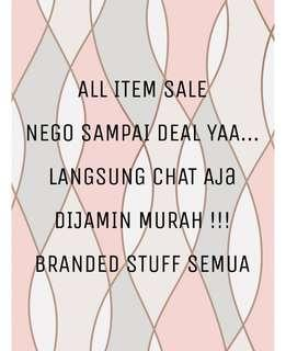 SALE ALL ITEM !!!
