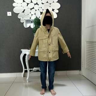 Boy Winter/Autumn Jacket with Hoodie