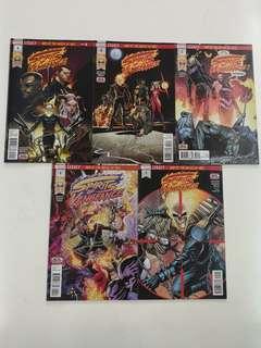 Spirits of Vengeance War at the Gates of Hell (2017 Marvel) Comics Set
